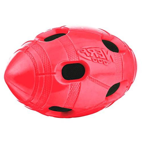 Nerf 6in Bash Crunch Football - Red,
