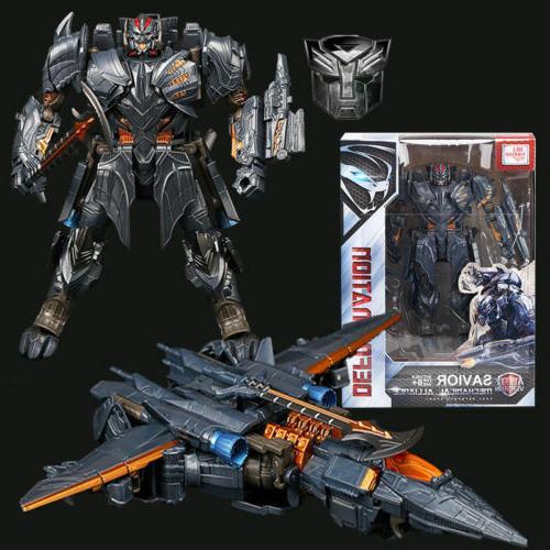 "Transformers 5 Movie The Last Knight V Megatron 8"" Action Fi"
