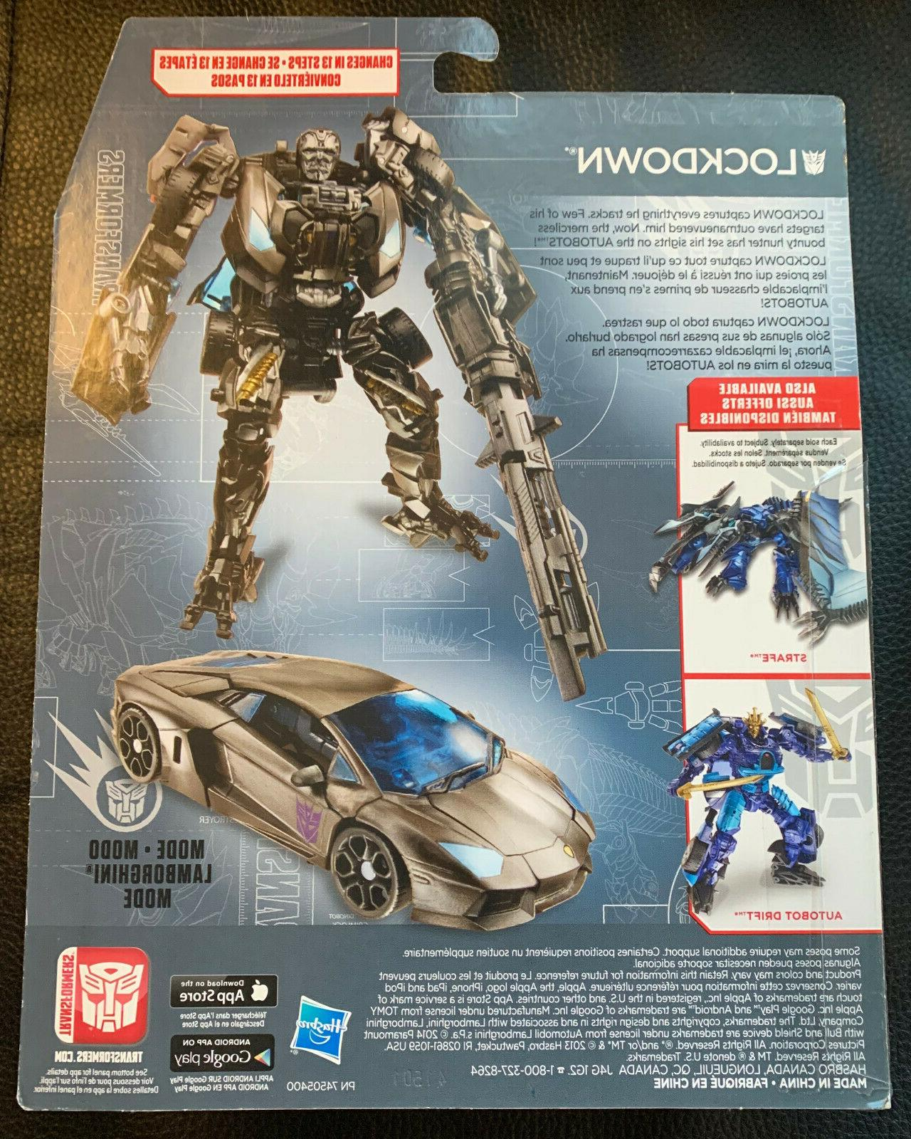 TRANSFORMERS AGE EXTINCTION 2015 NEW