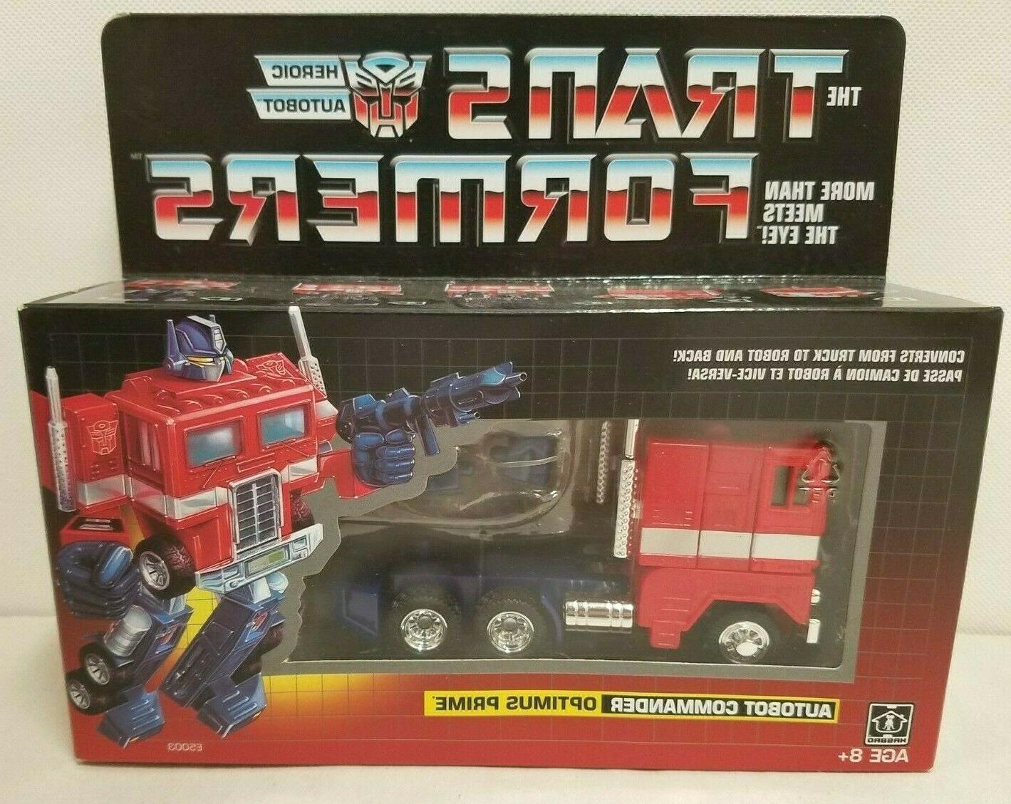 Transformers Autobot Optimus Prime in package