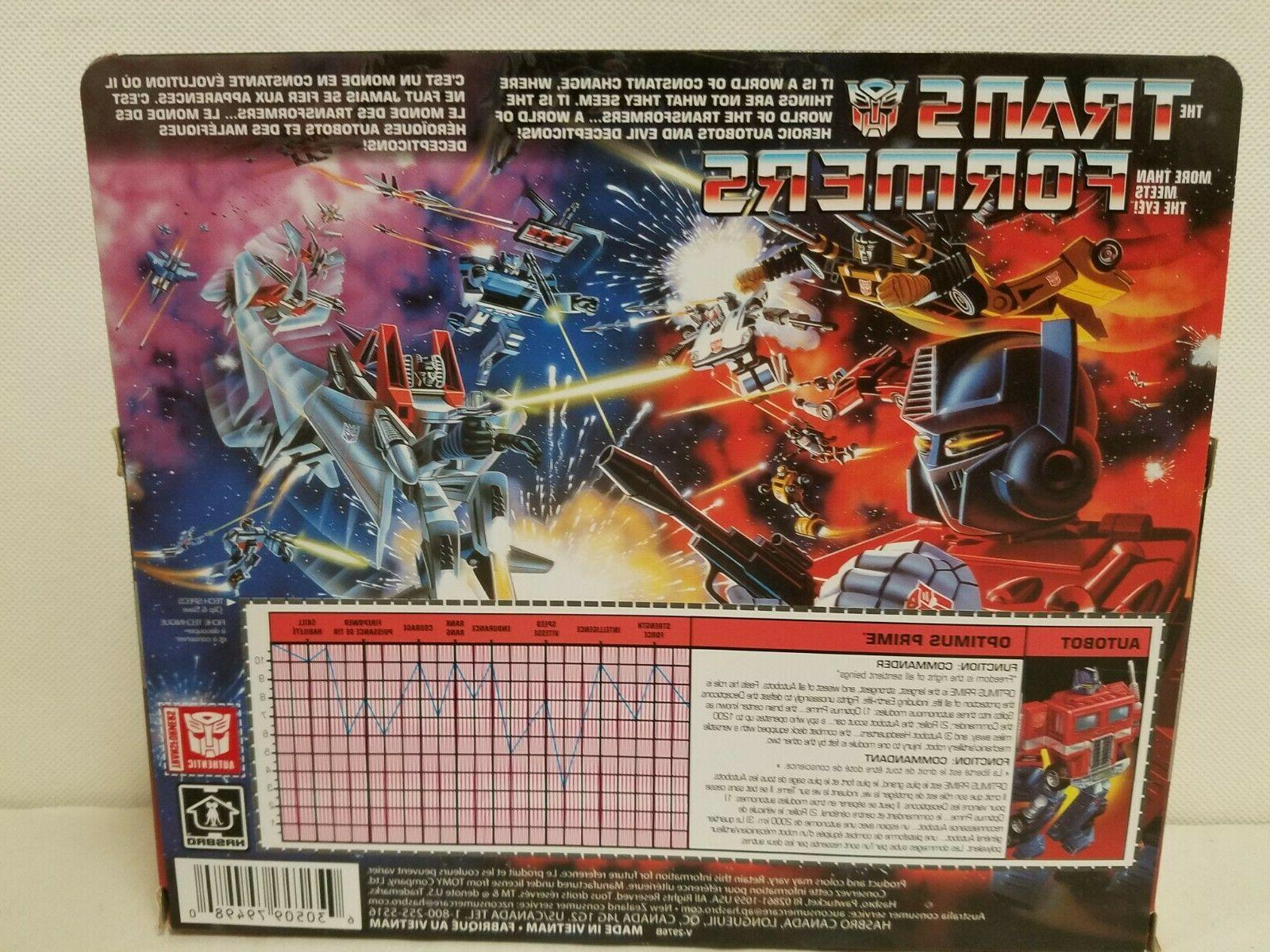 Transformers Prime new in package