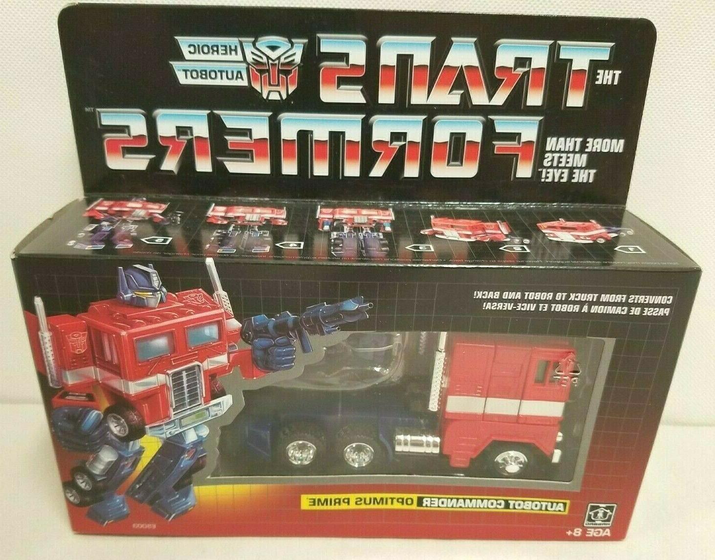 transformers autobot commander optimus prime new in
