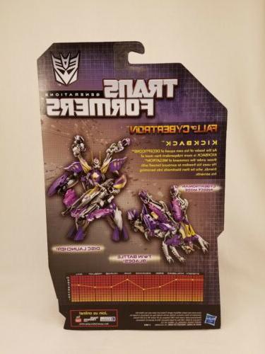 Transformers Fall Cybertron KICKBACK FOC MOC