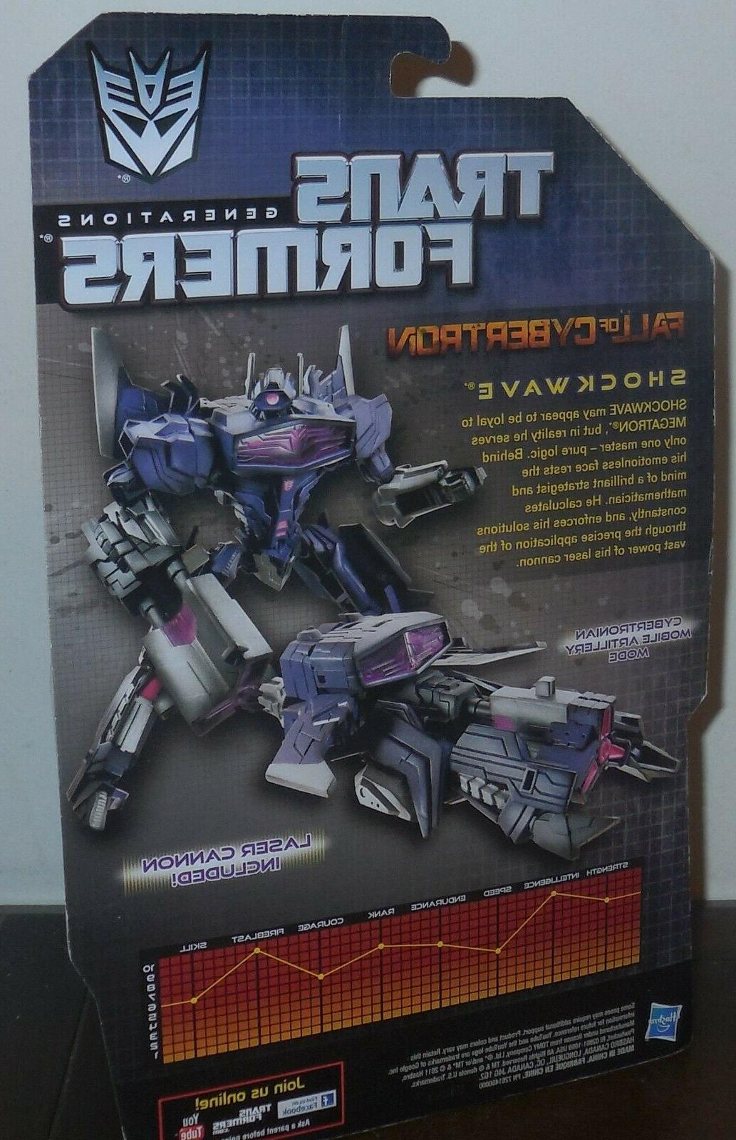 Transformers Of SHOCKWAVE Mosc Deluxe Foc
