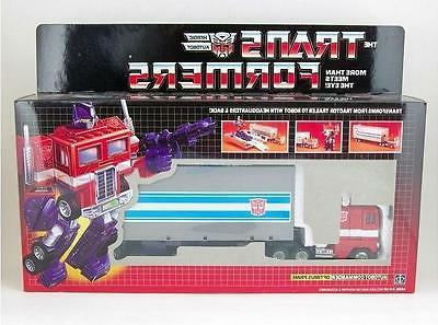 Transformers G1 OPTIMUS PRIME Re-issue Toy Figure Collection