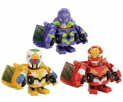 Transformers QTC02 Evangelion Set of 3 Takara Tomy 5 years o