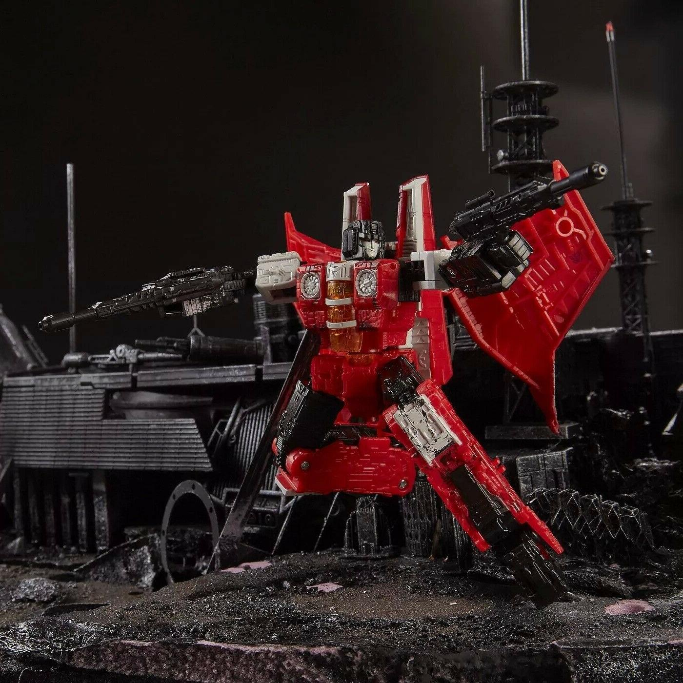 Transformers Red Wing War Cybertron Siege Voyager