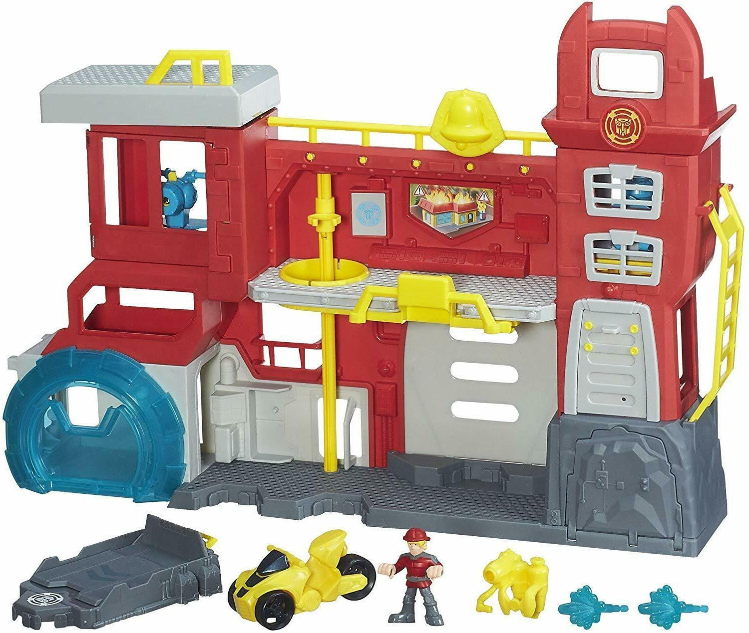 Transformers Rock Firehouse FF Package