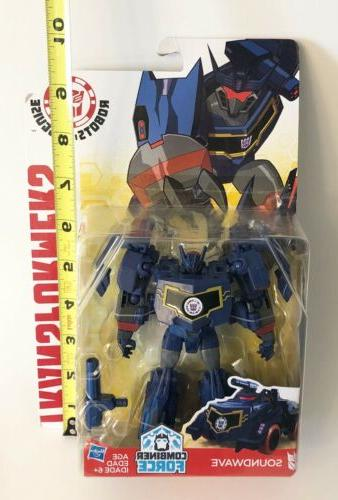 Transformers in Combiner Force Soundwave Class