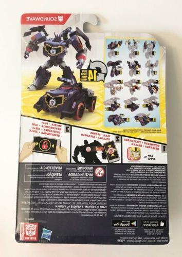 Transformers in Combiner Soundwave Warrior Class
