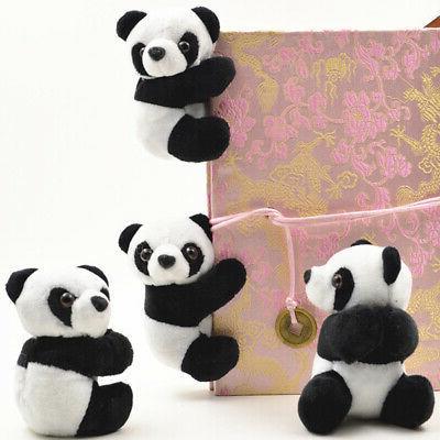 US Bear Plush Soft Toys Doll Animals Gift Clip Decor USA