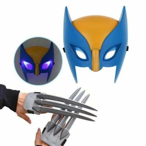 wolf wolverine claws and wolverine mask cosplay