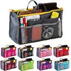 Women Travel Insert Makeup Handbag Organiser Purse Organizer