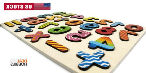 Wooden & Number Puzzle Early Toys 2