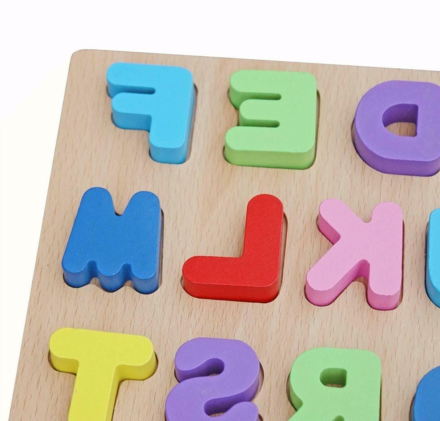 Timy Wooden Puzzle Board Toddlers Early