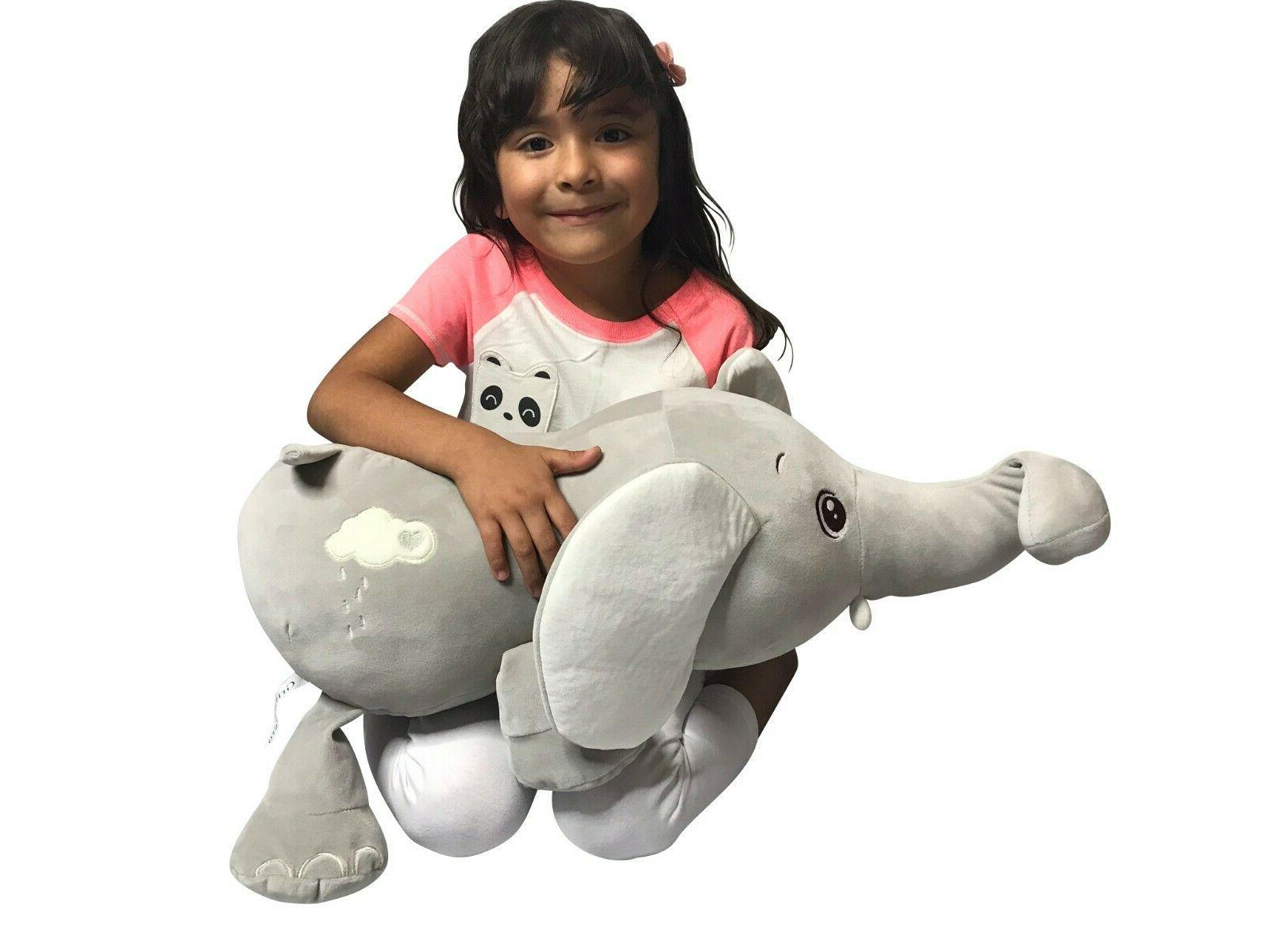 Large Elephant Animal Plush Soft Toy for Great Shower