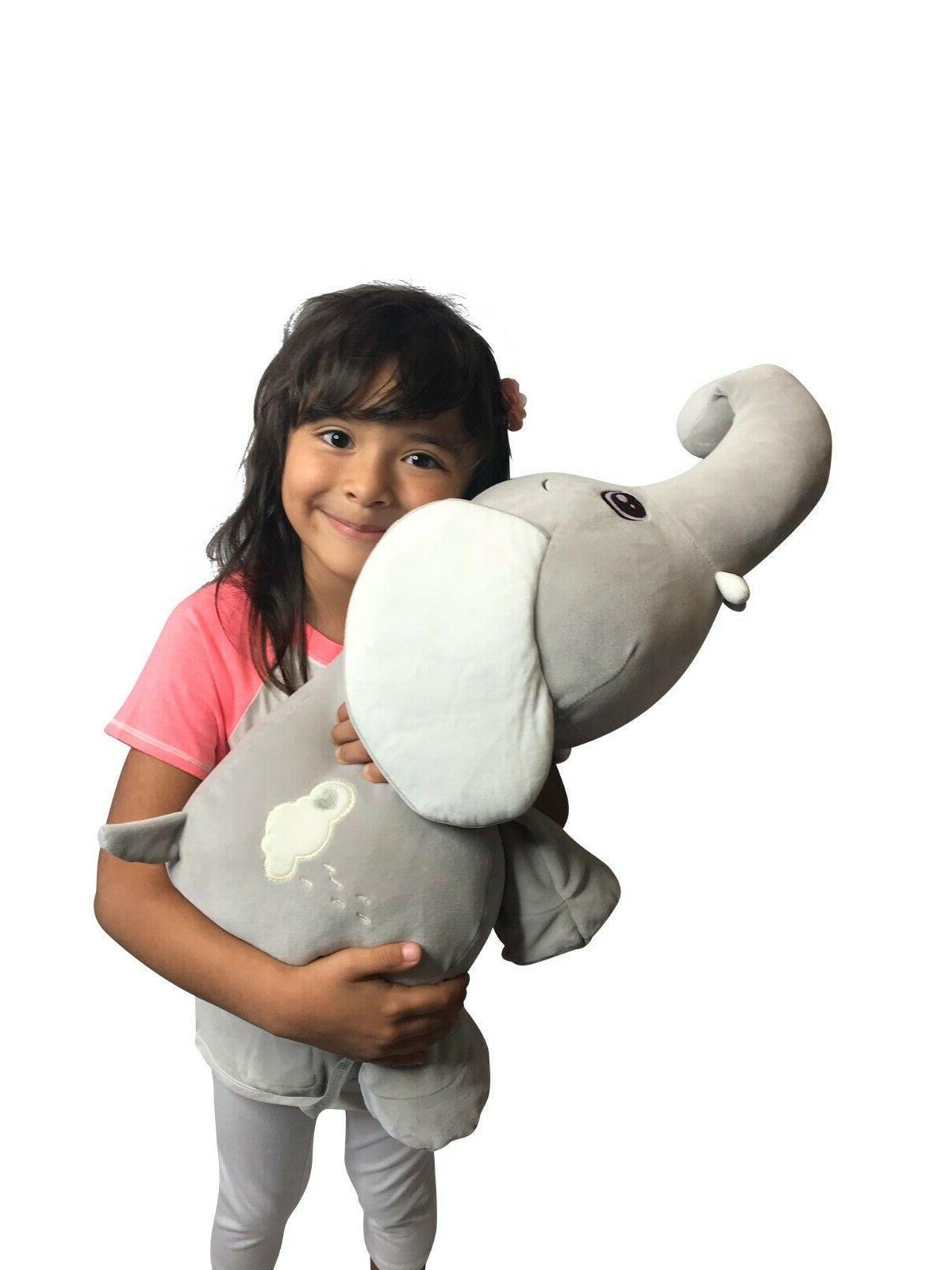 Large Stuffed Elephant Plush Soft for Shower