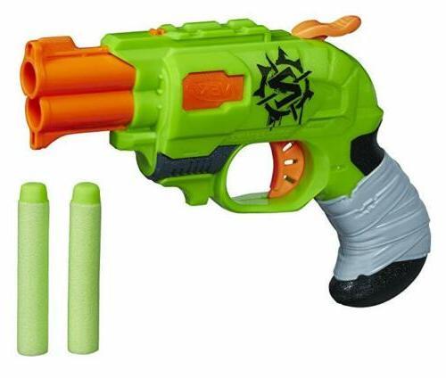 Nerf Zombie Strike Doublestrike Blaster, New, Free Shipping