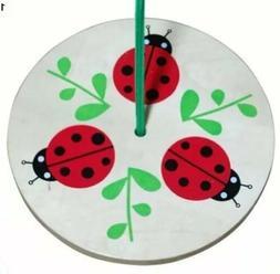 Kid's Ladybug Tree Swing