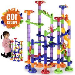 Large Marble Run Toy Set for Kids  DIY Building Play