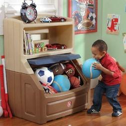 Large Toy Box Storage Chest Bin Bookcase Kids Playroom Organ
