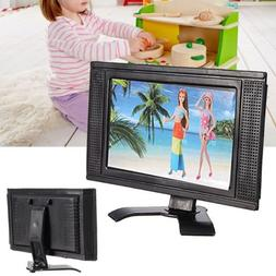 LCD TV Doll Toy Structures Accessories For Barbie Doll House