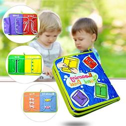 Per Baby Learn To Dress Board Learning Books Early Education