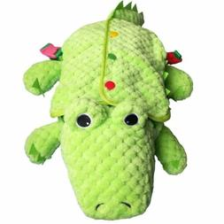 Learn to Dress Alligator Plush Toys Kids Early Learning Basi