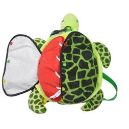 Learn to Dress Sea Turtle Plush Toys Kids Early Learning Bas