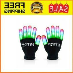 led Gloves Light Up Kids Toys Boys Girls for Age 5 6 7 8 9 1