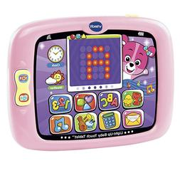 VTech Light-Up Baby Touch Tablet Amazon Exclusive, Pink
