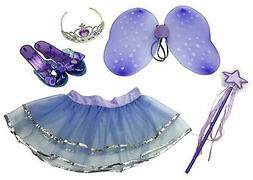 Little Fairy Dress-Up Pretend Play Princess Role Play Costum