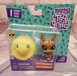 Littlest Pet Shop Ada Kangarooney 1-153 and Abi Kangarooney