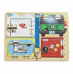 Melissa & Doug® Locks & Latches Board