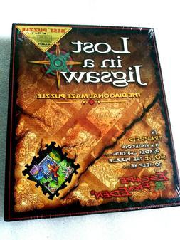 Lost In A Jigsaw Escape From Eden Buffalo Games Diagonal Maz