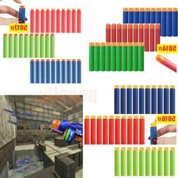 Lot 60~/500Pcs Refill Foam Darts for Nerf N-strike Elite Ser