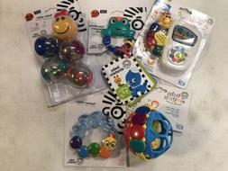 LOT of 5 New Baby Einstein Toys Take Along Tunes Bendy Ball