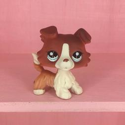 LPS #1542 Littlest Pet Shop Collie Dog Puppy Hasbro Rare Gir