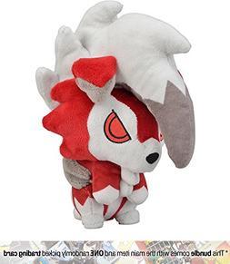 "Lycanroc : ~6"" Pokemon Center Japan Pokémon Doll Plush + 1"