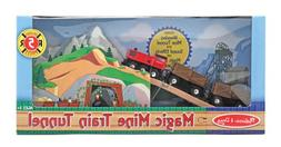 Melissa & Doug Magic Mine Train Tunnel Wooden Train Accessor