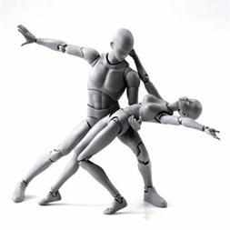 Male/Female Action Figma Archetype Figure Body Toy Arts Anim