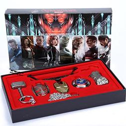 ML.PRODUCTS Marvel Avengers Age of Ultron Metal Necklace set