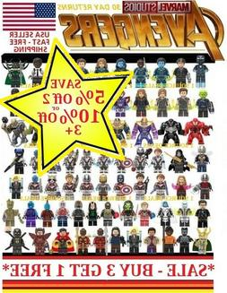 Avengers Minifigure Building Blocks Fits Lego End Game Iron
