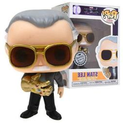 Marvel Avengers Stan Lee With Infinity Gauntlet #01 PVC Acti