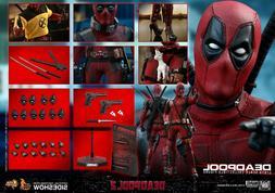 """Hot Toys Marvel Comics Deadpool 2 Deadpool 1/6 Scale 12"""" Act"""