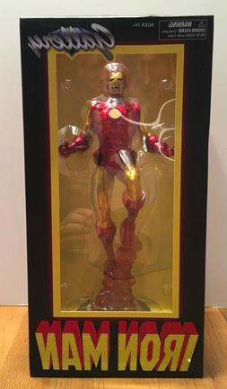 DIAMOND SELECT TOYS Marvel Gallery Classic Iron Man PVC Figu