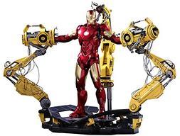 Hot Toys Marvel Iron Man 2 Iron Man Mark IV Diecast Figure w