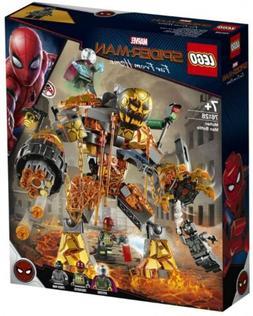 Lego Marvel Spider-Man Molten Man Battle 76128