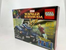 Lego Marvel Superheroes 6867 Loki's Cosmic Cube Escape New I