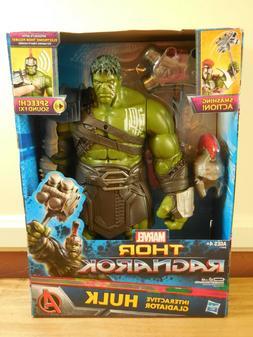 Hasbro Marvel Thor Ragnarok Interactive Gladiator HULK Actio